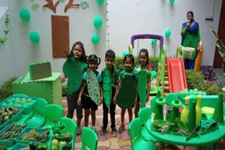 Behs Neev Academy-Green Colour Day
