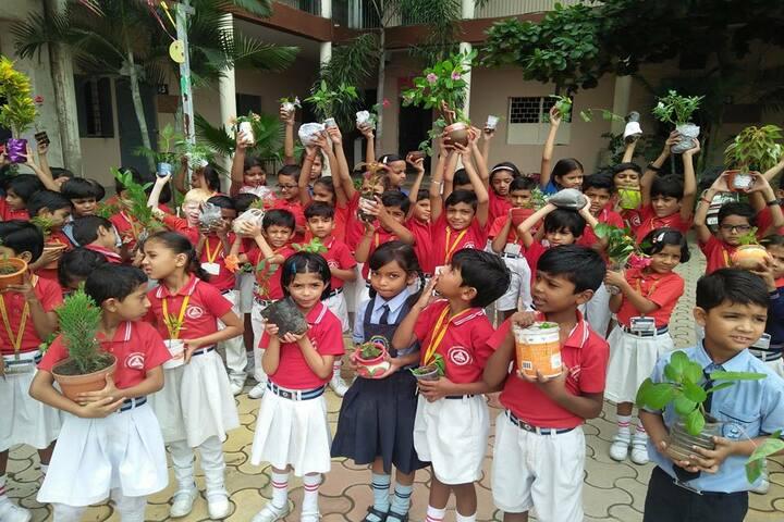Bhagwan Srichand Public School-Haritha Haram