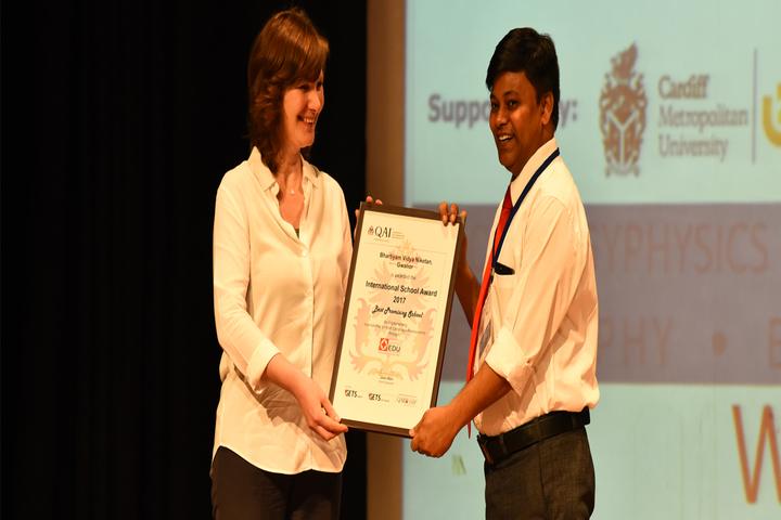 Bhartiyam Vidya Niketan-Award
