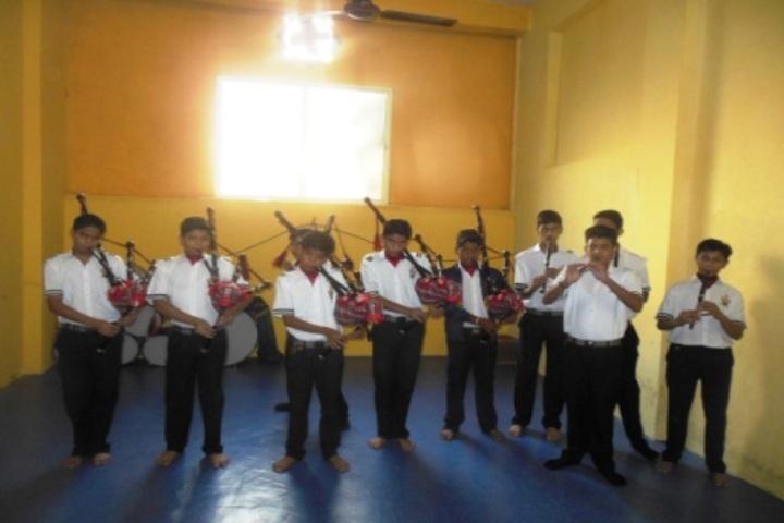 Bhartiyam Vidya Niketan-Music Room