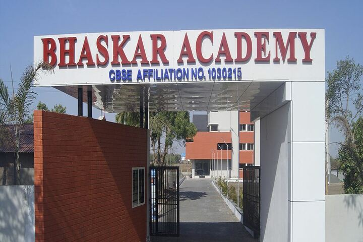 Bhaskar Academy-Campus Entrance View
