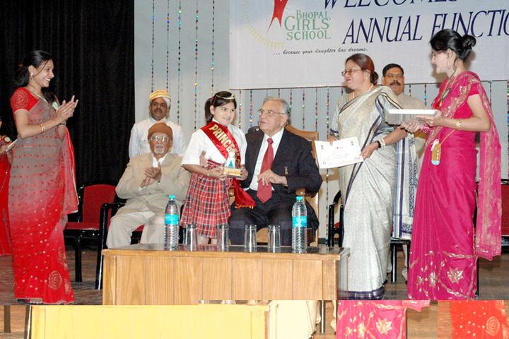 Bhopal Girls School-Achievement
