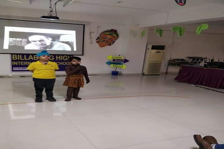 Billabong High International School-Acting Room