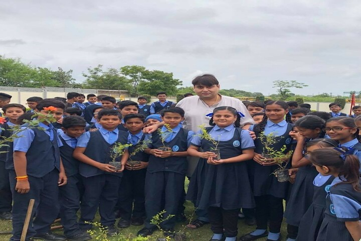 Boson International School-Tree Plantation