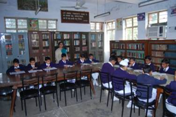 Bsf Senior Secondary School-Library