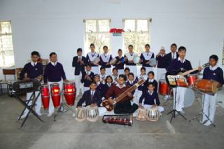 Bsf Senior Secondary School-Music