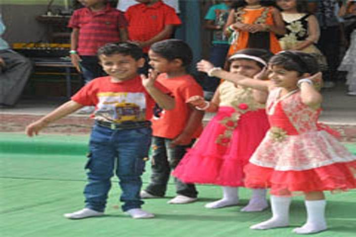 Burhanpur Public School-Kids Dance