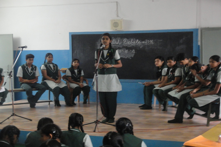 Carmel Convent Senior Secondary School-Debate