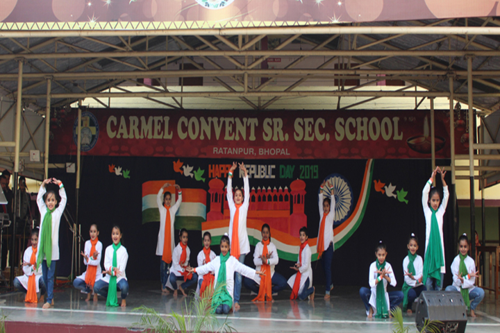 Carmel Convent Senior Secondary School-Republic-Day