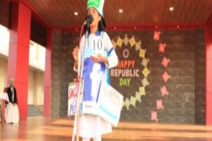 Carmel Convent Senior Secondary School-Republic Day