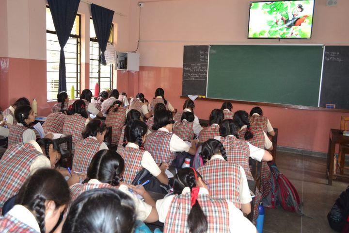 Carmel Convent Senior Secondary School-Classroom