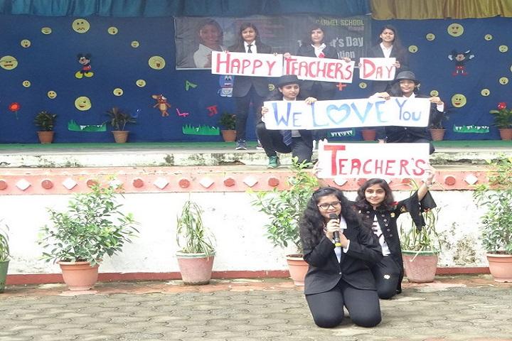 Carmel School-Teachers Day Celebration