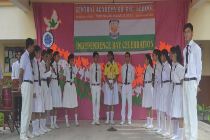 Central Academy English Medium School-Independence Day