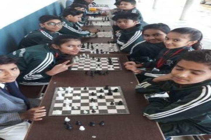 Central Academy English Medium School-Chess Game
