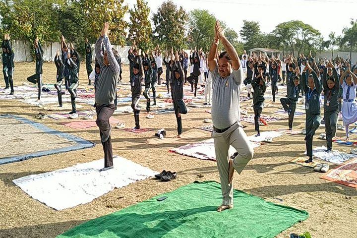Central Academy English Medium School-Yoga