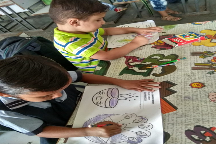 Central Academy English Medium School-Drawing