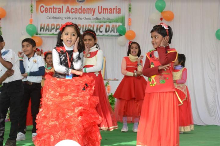 Central Academy English Medium School-Republic Day
