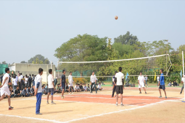 Central Academy English Medium School-Sports