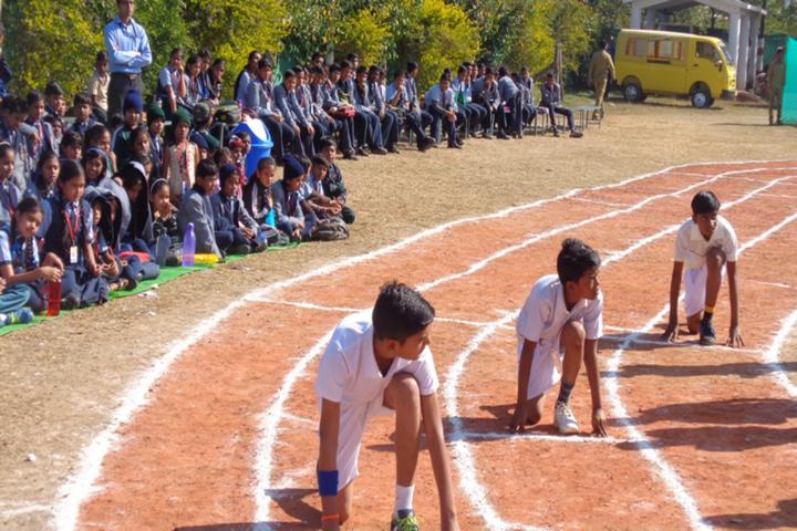 Central Academy International School-Running Race