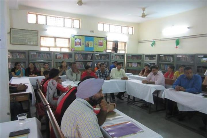 Central Academy School-Meeting