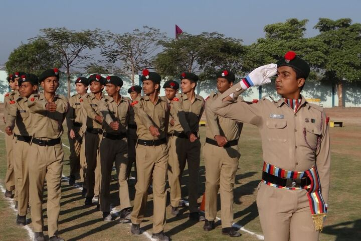 Central India Academy-NCC Camp