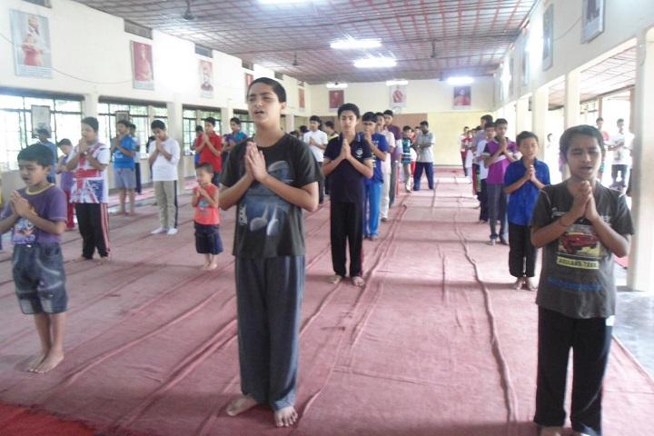 Vivekananda Kendra Vidyalaya-Yoga Day