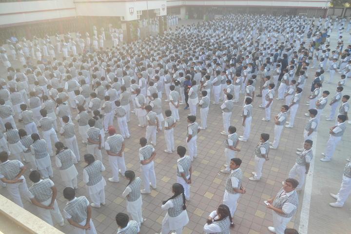 Christu Jyoti Convent School-Morning Assembly