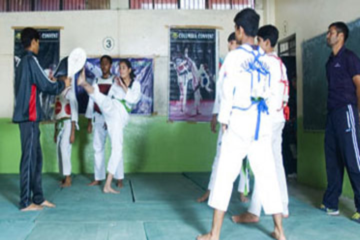 Columbia Convent School-Karate