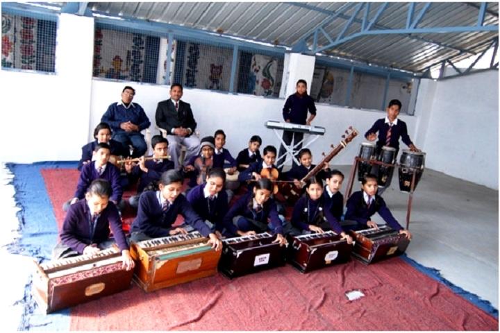 DAV ACC Public School-Music room
