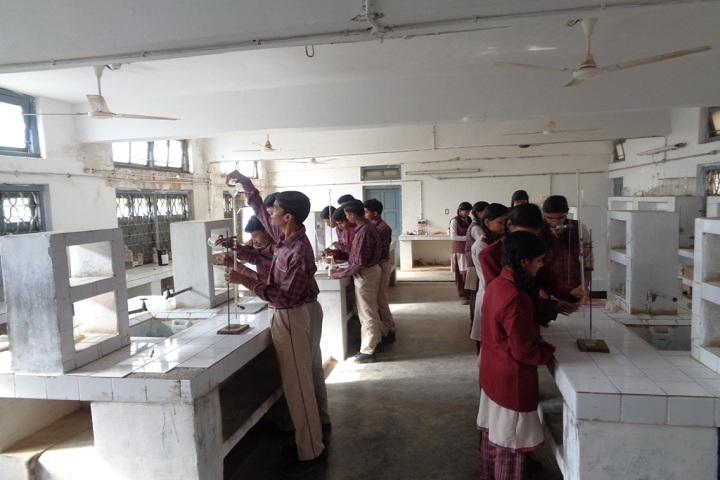 D A V Public School Panna - Chemistry lab