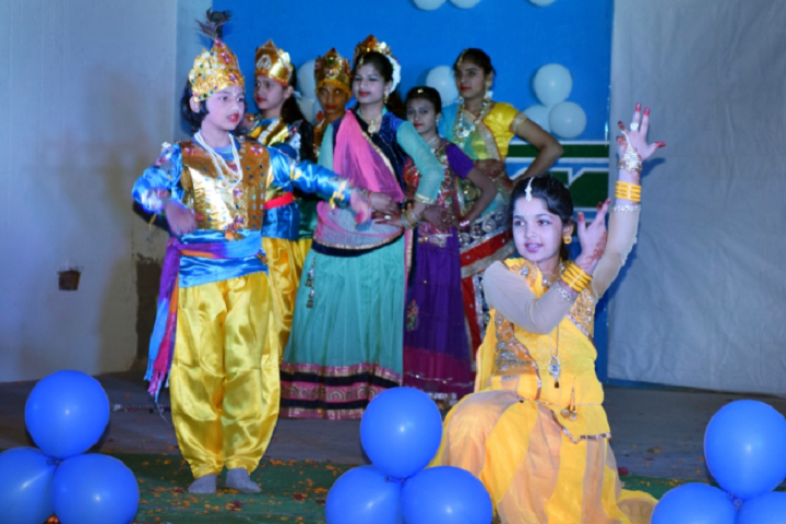 D A V Public School Panna - Krishna fest