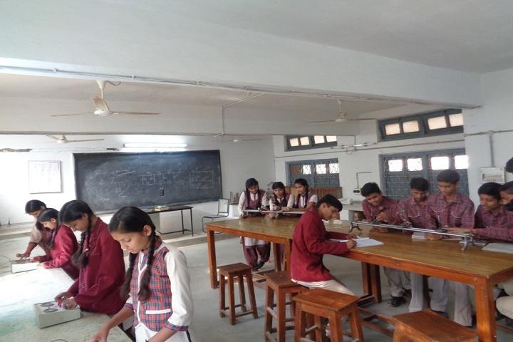 D A V Public School Panna - Physics lab