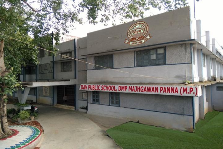D A V Public School Panna - School Building