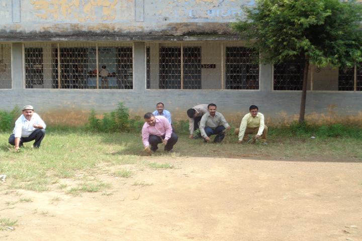 D A V Public School Panna - Swachata Activity