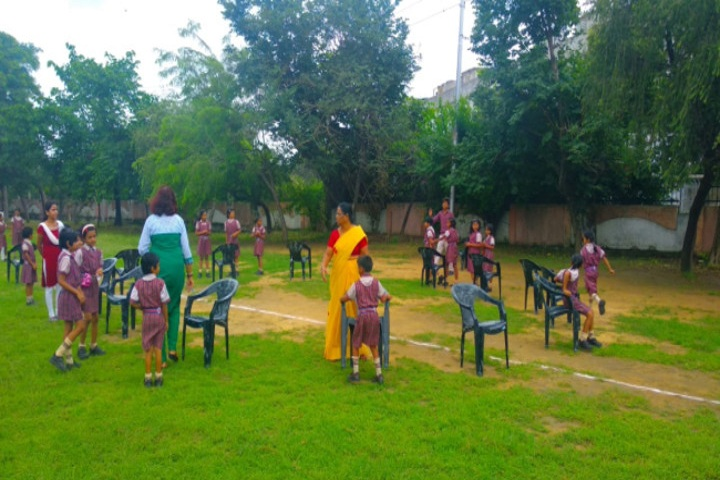 D A V Public School-Kids Sports