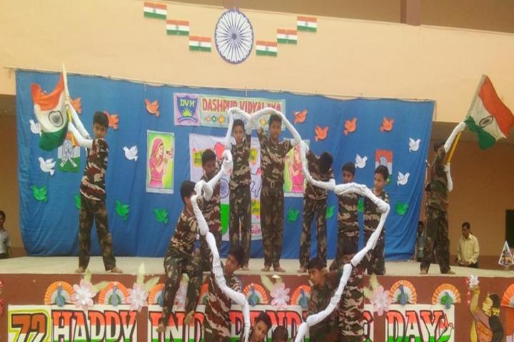 Dashpur Vidyalaya-Independence day dance