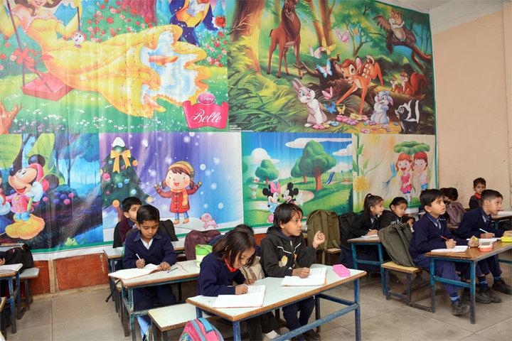 Datahari Public School-Class room