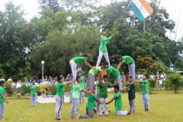 Vivekananda Kendra Vidyalaya Neepco-Republic Day