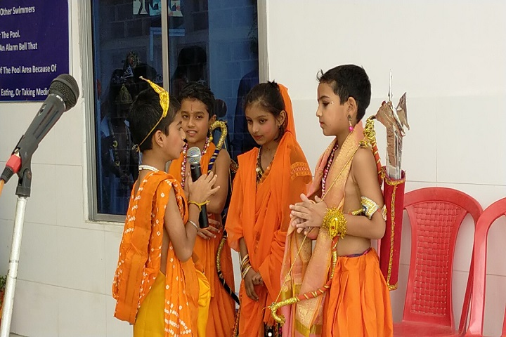 Deepak Memorial Academy-Festival Celebration