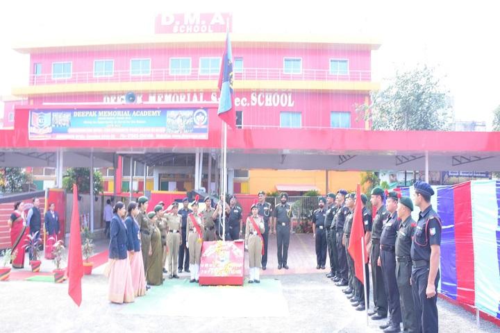 Deepak Memorial Academy-NCC Day Celebration