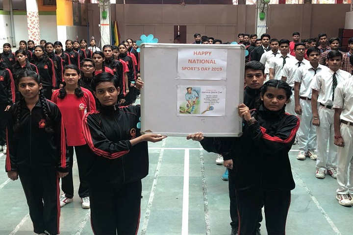 Deepak Memorial Academy-National Sports Day Celebration