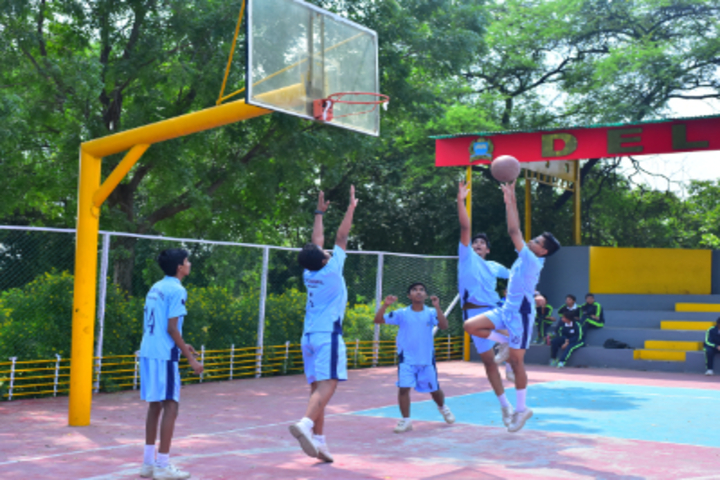 Delhi International School-Basketball Court