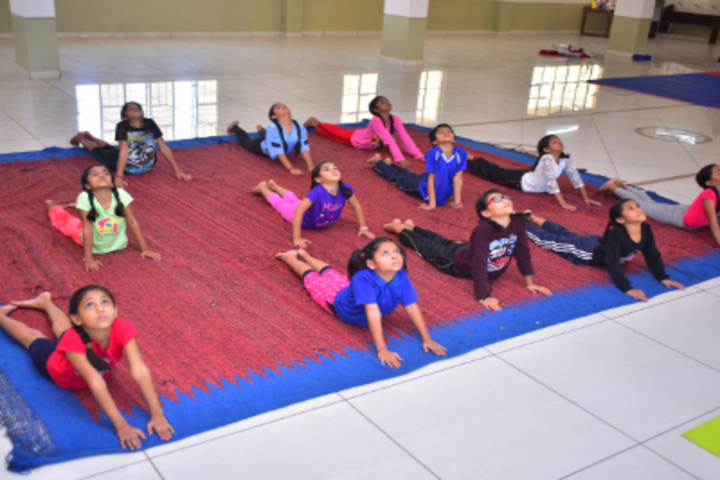 Delhi International School-Yoga