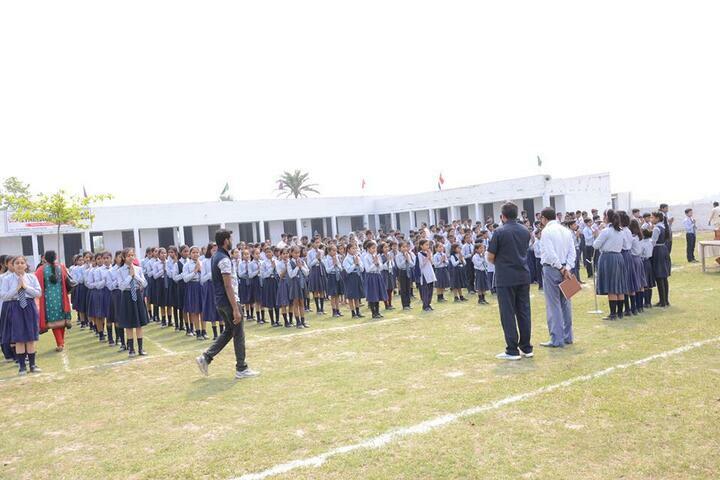 A Y International School-Assembly