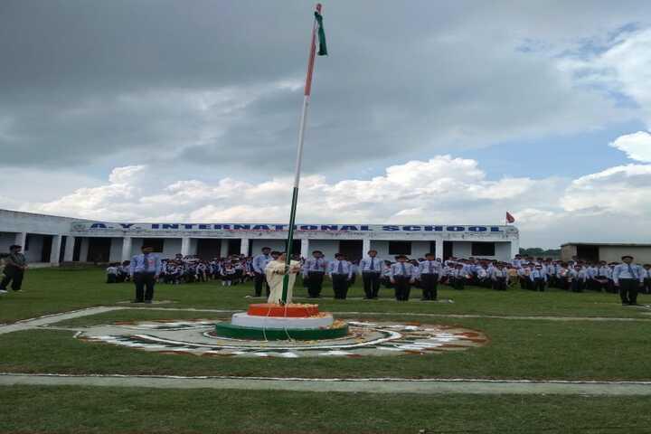 A Y International School-Republic day