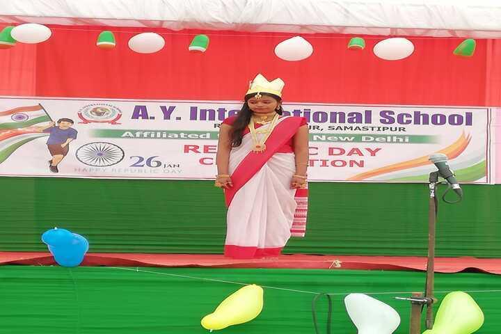 A Y International School-RepublicDay-Celebration