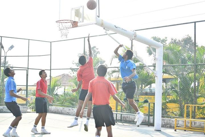 Delhi Public School-Sports Basketball