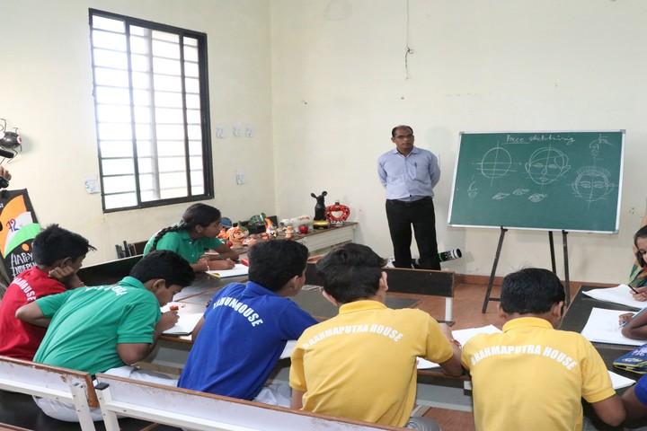 Delhi Public World School-Classroom