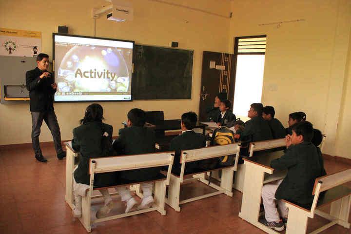 Delhi World Public School-Digital Classroom
