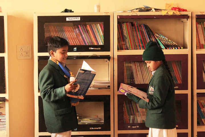Delhi World Public School-Library